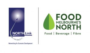 NORTH Link & Melbourne's North Food Group Logos
