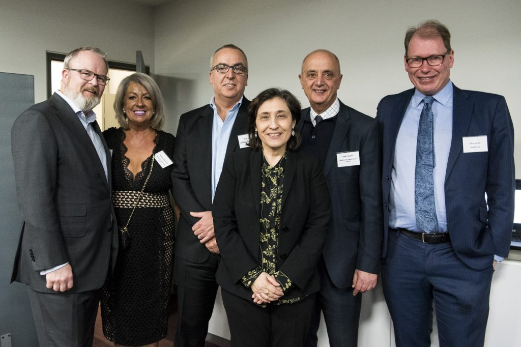 Melbourne North Food Group launch attendees