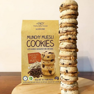 Naturally Good Munchy Museli Cookies