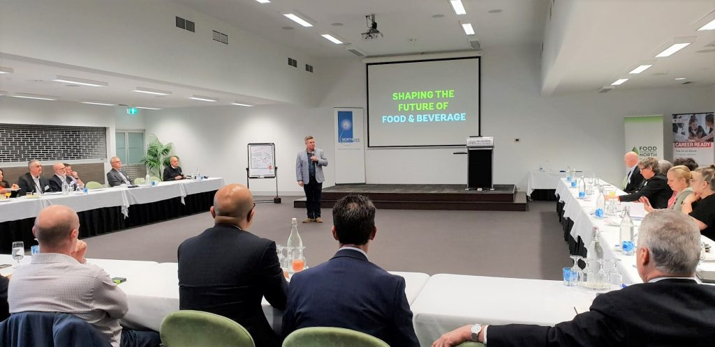 Partners discuss at Melbourne's North Food Group industry roundtable