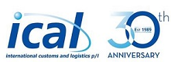 ICAL 30 years logo