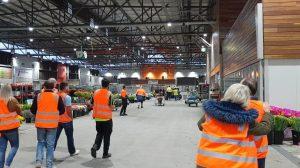 MNFG partners touring Melbourne Market