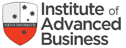 Institute of advanced business logo