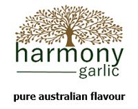 Harmony Garlic logo
